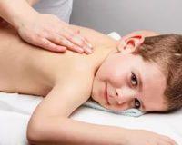 Массаж спины детям от 1 до 12 лет